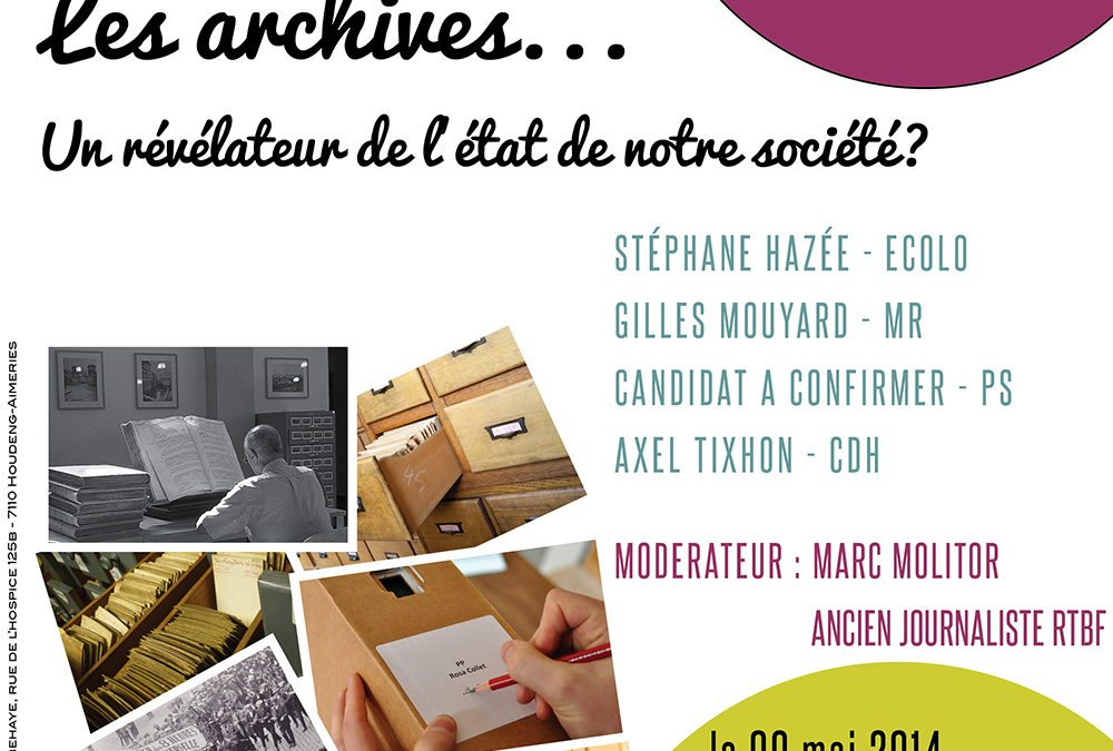 Les archives… un révélateur de l'état de notre société ?