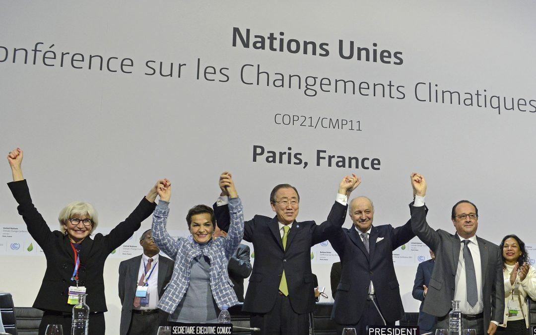L'accord de Paris et les acteurs mondiaux