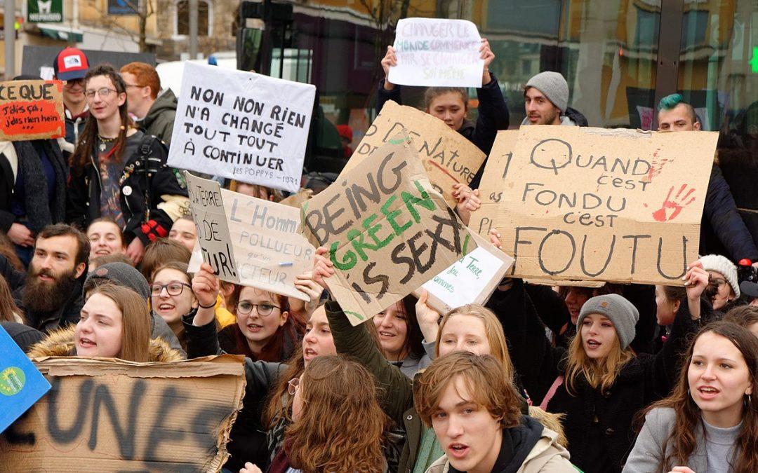 """La N-VA et le Vlaams Belang, ces """"climato-rassureurs""""."""