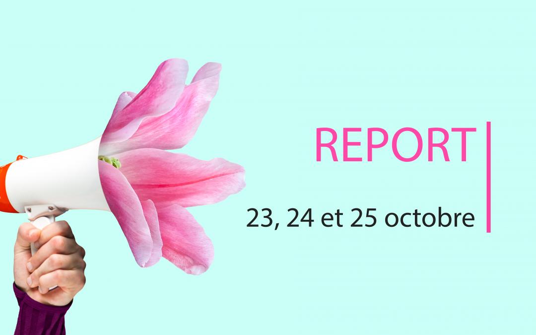REPORT DES RENCONTRES DE L'ECOLOGIE POLITIQUE -> RDV FIN OCTOBRE !